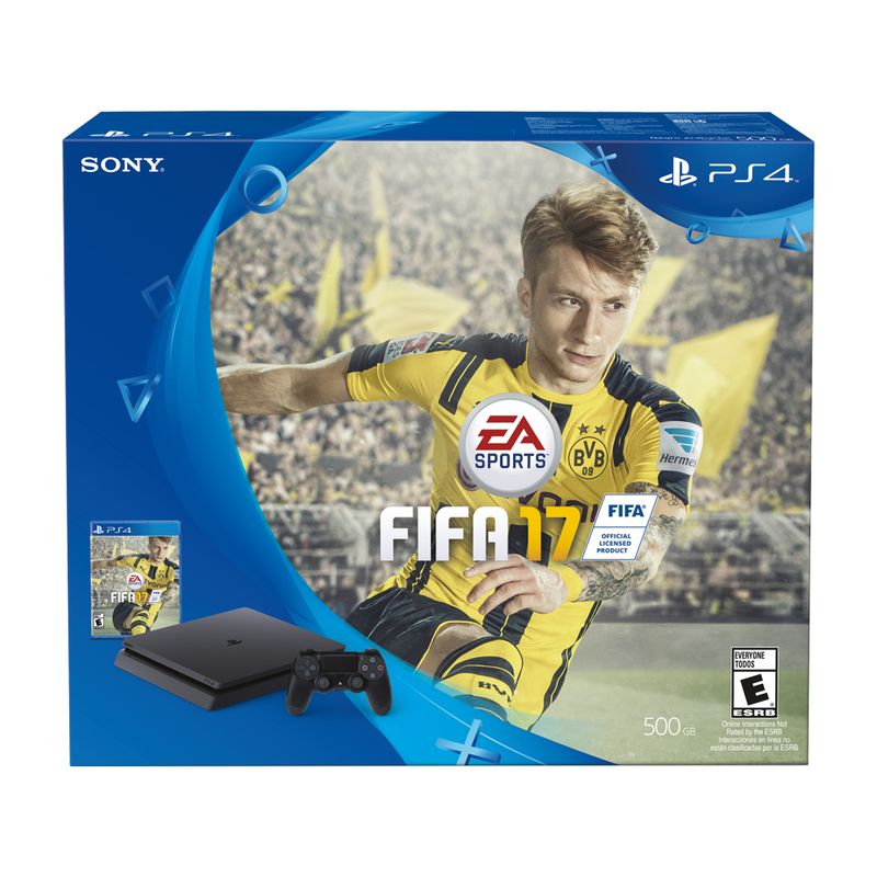PS4 HW 500GB SLIM FIFA 2017 Sony Store