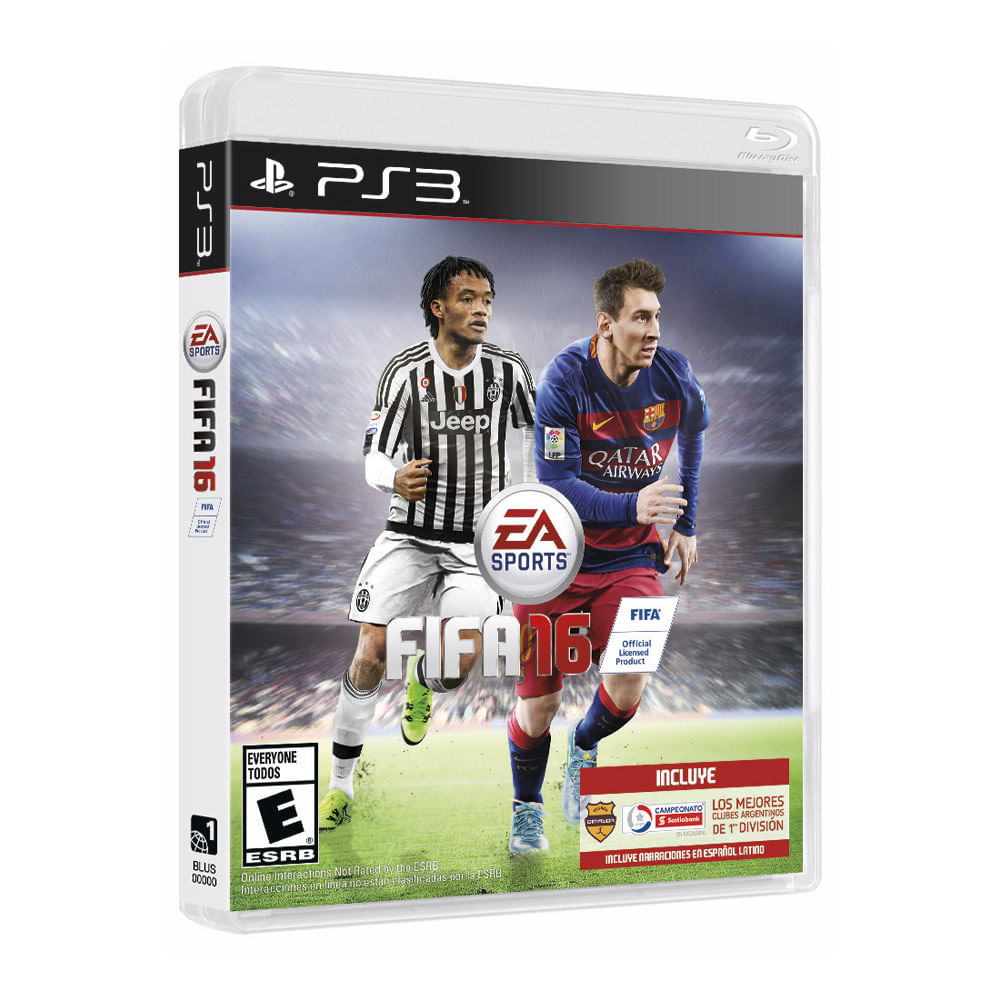 juego ea sports fifa 16 para playstation 3 sony store. Black Bedroom Furniture Sets. Home Design Ideas